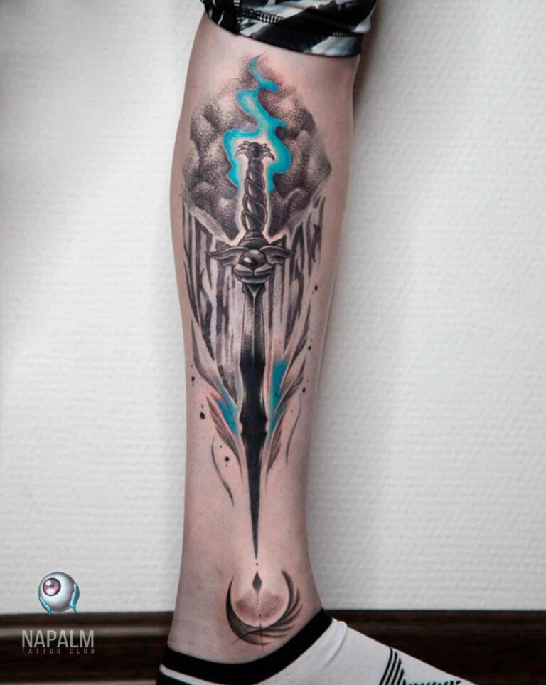 Татуировка намбер сикс